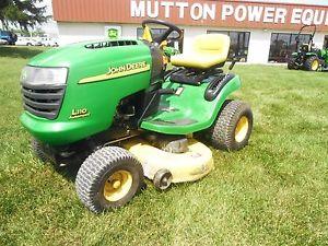 Used-John-Deere-L110-Lawn-Tractor-17-5-HP-42-Mower