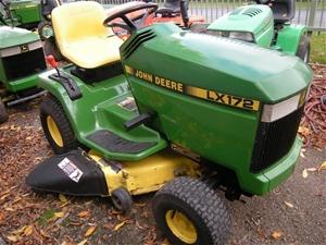 John Deere LX172 Lawn Tractor, 14 Hp. Kawasaki Engine, 38 ...