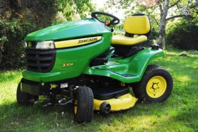 John Deere x304 17 hp