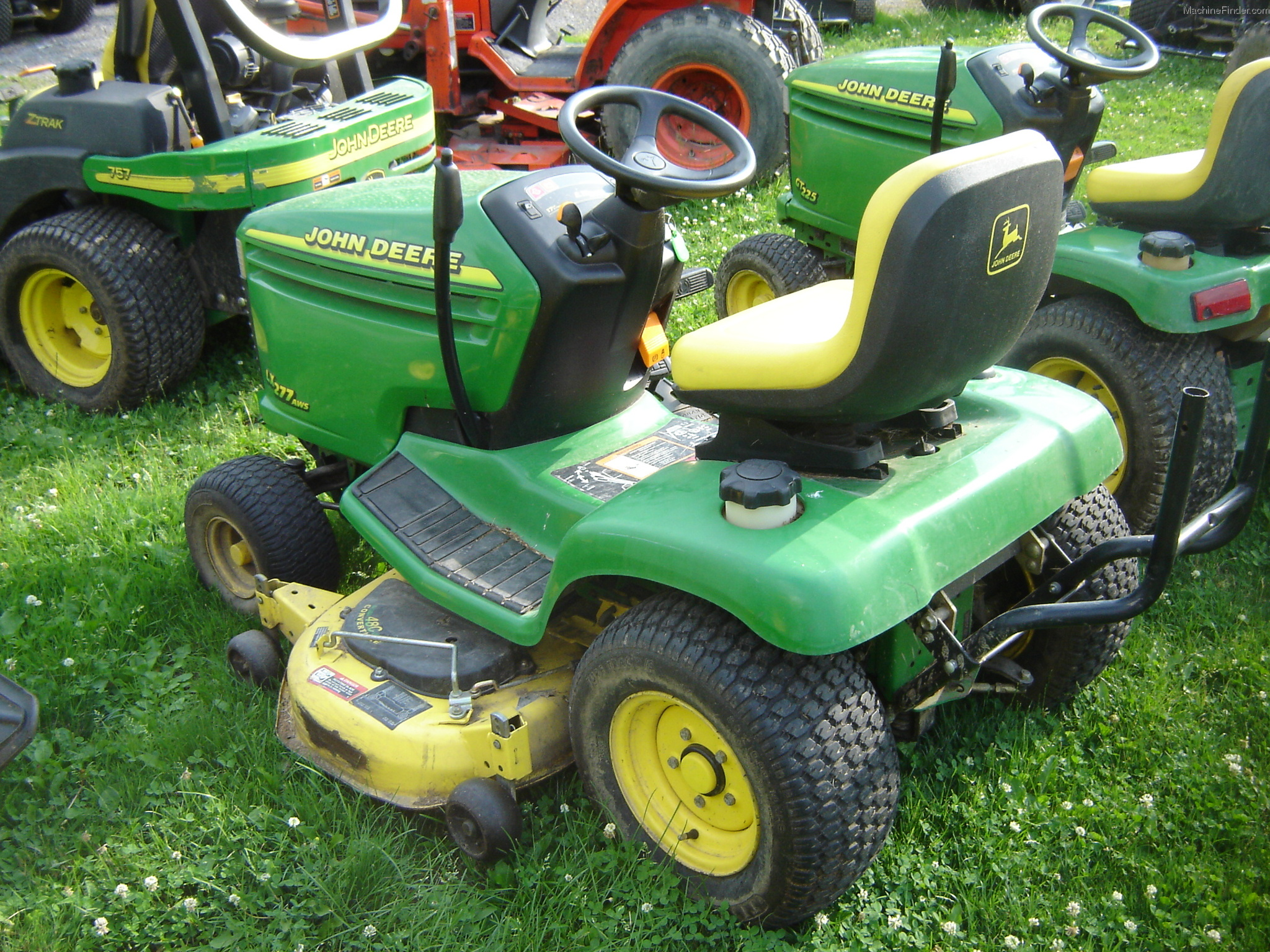 2000 John Deere LX277 Lawn & Garden and Commercial Mowing ...