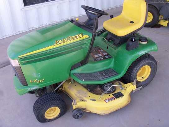 2002 John Deere LX277 Lawn & Garden and Commercial Mowing ...