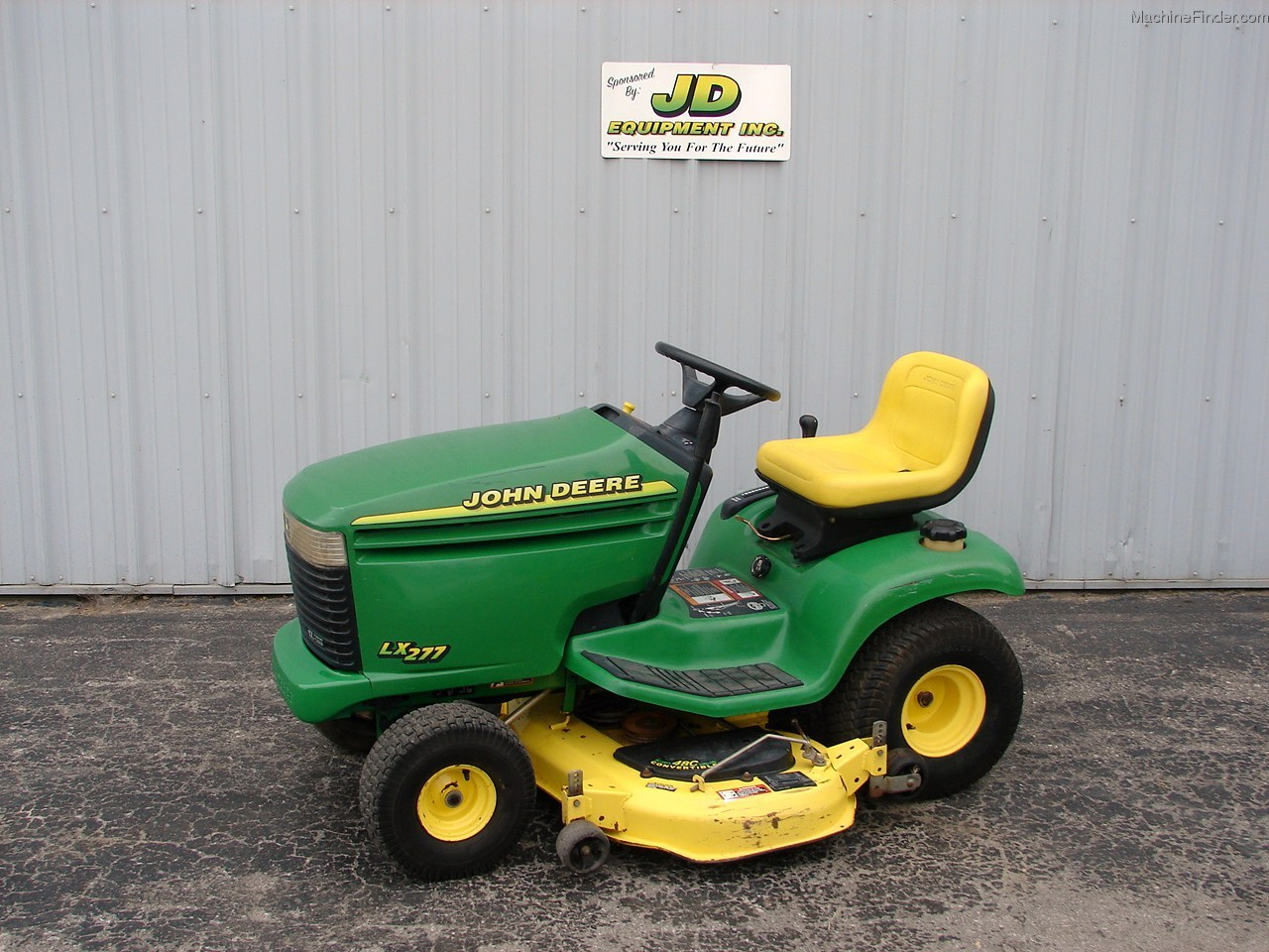 2001 John Deere LX277 Lawn & Garden and Commercial Mowing ...