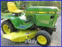 Low Cost Lawnmowers » Blog Archive » John Deere 318 Lawn ...