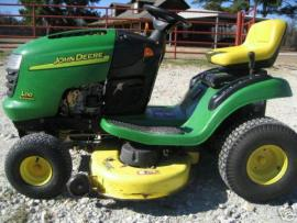 Cost to Ship - John Deere L110 Riding Mower.18 hp.Hydro.42 ...
