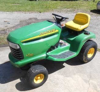 John Deere LT150 Lawn Tractor 15 HP Kohler Engine No Deck ...