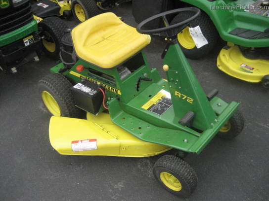 1984 John Deere R72 Lawn & Garden and Commercial Mowing ...