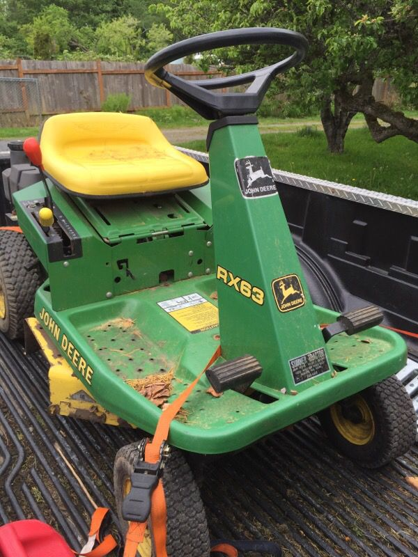 John Deere RX63 rear engine riding mower (Home & Garden ...