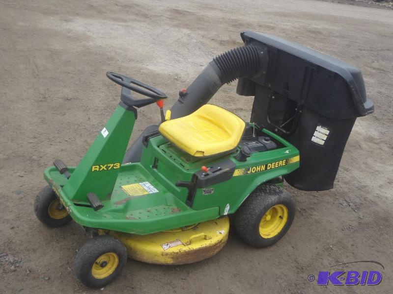 John Deere RX73 Mower, 9HP OHV Engi... | Spring Lawn ...