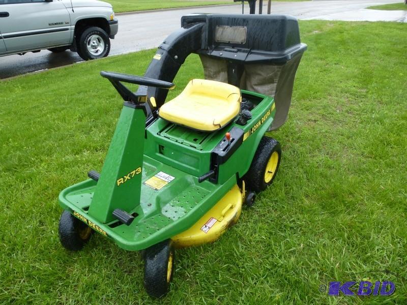 John Deere Lawn mower: Model# RX 73... | Allis Planter ...