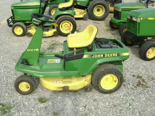 1989 John Deere RX75 Lawn & Garden and Commercial Mowing ...