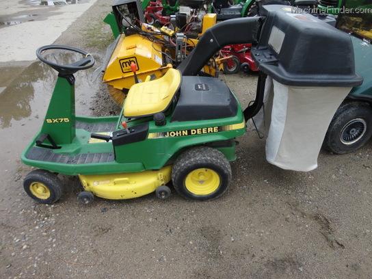 John Deere SX75 Lawn & Garden and Commercial Mowing - John ...