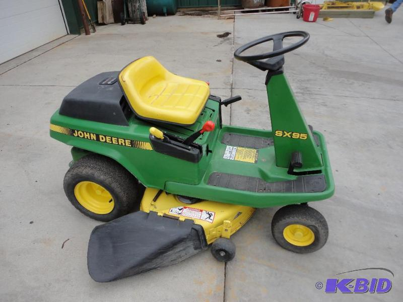 John Deere SX95 with 12.5 hp engine... | May Auction 2014 ...