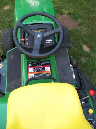 John Deere STX 38 13 HP Kohler 38 034 Deck Lawn Riding ...