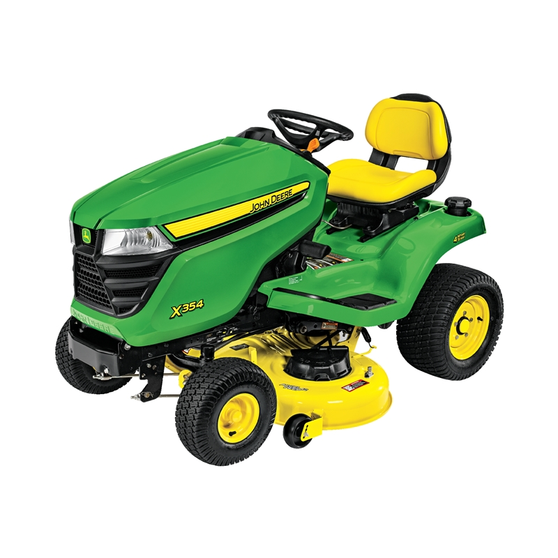John Deere X354 All Wheel Steer Riding Lawn Tractor