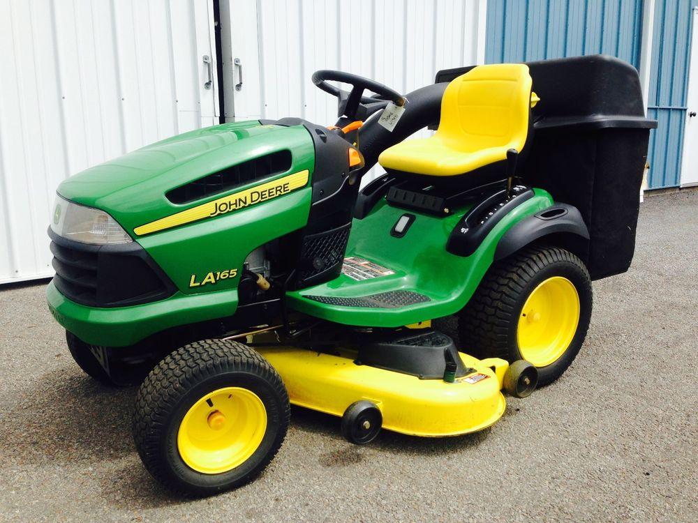 John Deere LA165 Lawn Tractor   eBay