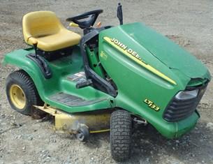 John Deere LT133 Lawn Tractor Mower Kohler CV13 13hp ...