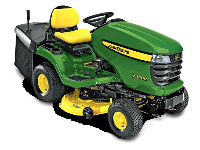 X300 Select Series Lawn Tractor   X300R   John Deere US