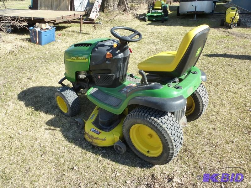 John Deere L 120 Lawn Tractor: Has 20 Hp Inte...   NCS Rvs ...