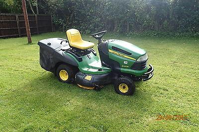 John Deere Rideon Lawn Mower / Tractor X130r,grass Box ...