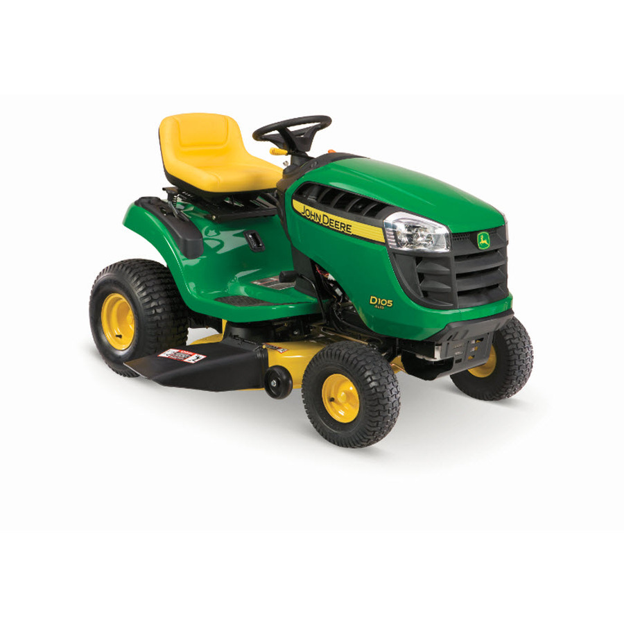 Shop John Deere 100 Series 17.5-HP Automatic 42-in Riding ...