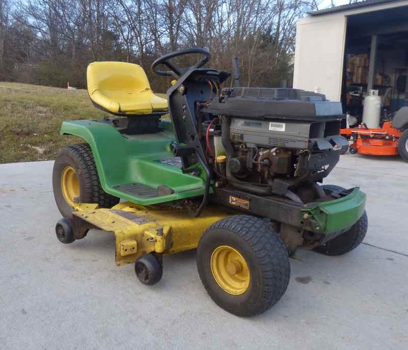 Used John Deere Lawn Tractor 48