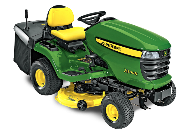 X300 Select Series Lawn Tractor | X300R | John Deere US