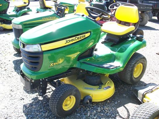 John Deere X310 Lawn & Garden and Commercial Mowing - John ...