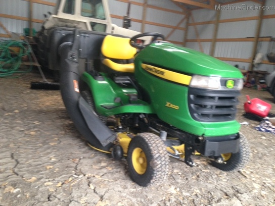 2013 John Deere X300 Lawn & Garden and Commercial Mowing ...