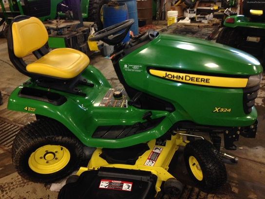 2007 John Deere X324 Lawn & Garden and Commercial Mowing ...
