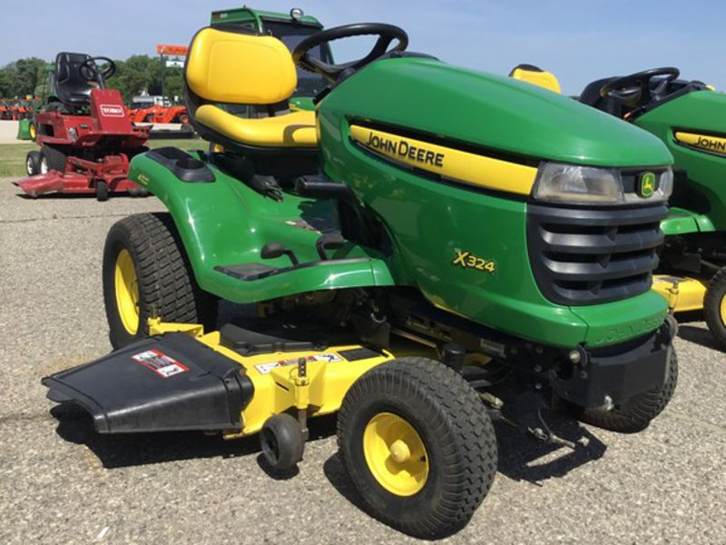 2009 John Deere X324 Riding Mower #M0X324A120784 HAUG ...