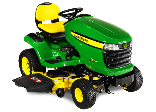 John Deere X324 X300 Select Series Ride on Mowers