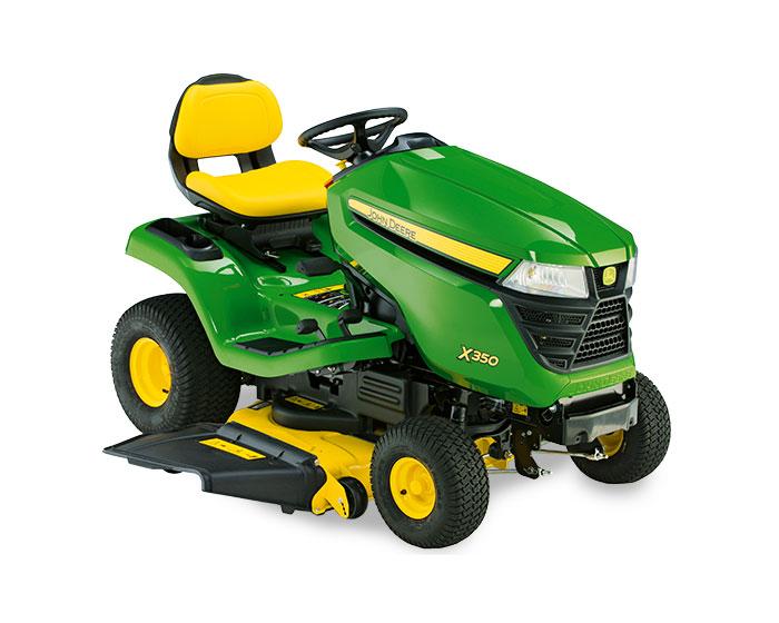 John Deere Select Series X300 Lawn Tractor X350