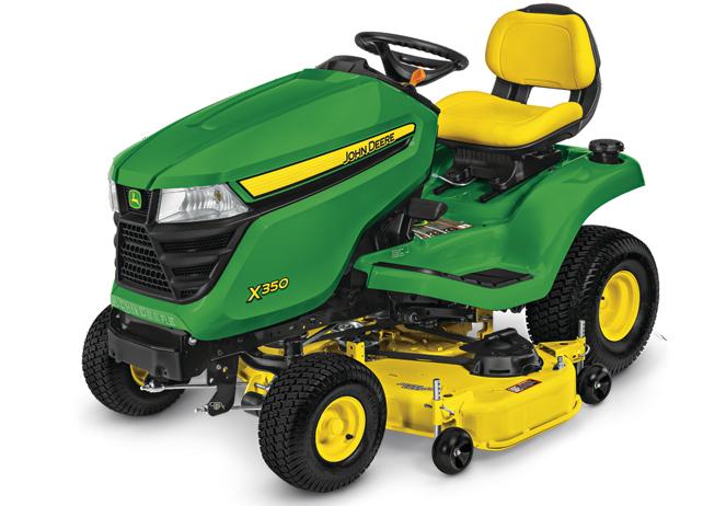 X300 Select Series Lawn Tractor | X350, 48-in. Deck | John ...