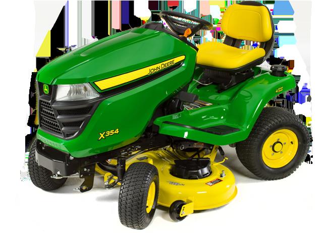 John Deere X354 All Wheel Steer Riding Lawn Tractor