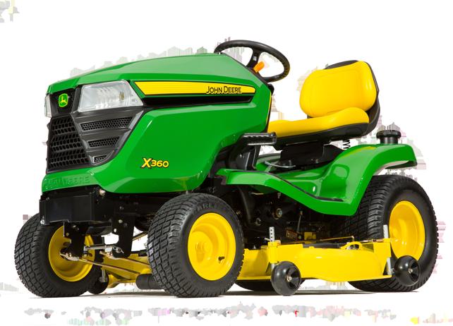 John Deere X360 Lawn Tractors JohnDeere.com