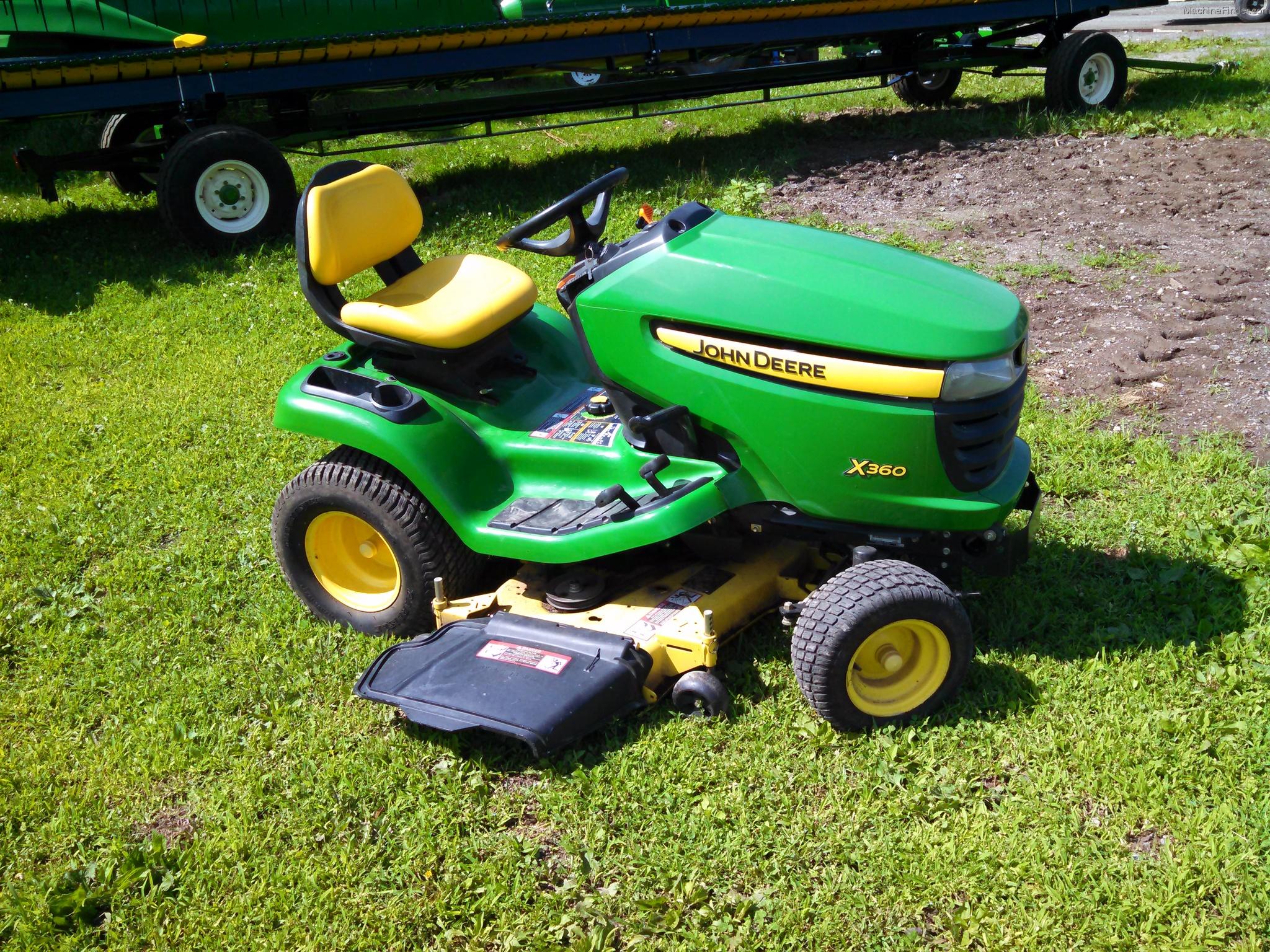 John Deere X360 Lawn & Garden and Commercial Mowing - John ...
