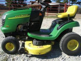 Cost to Ship - John Deere L110 Riding Mower.18 hp.Hydro.42 ...