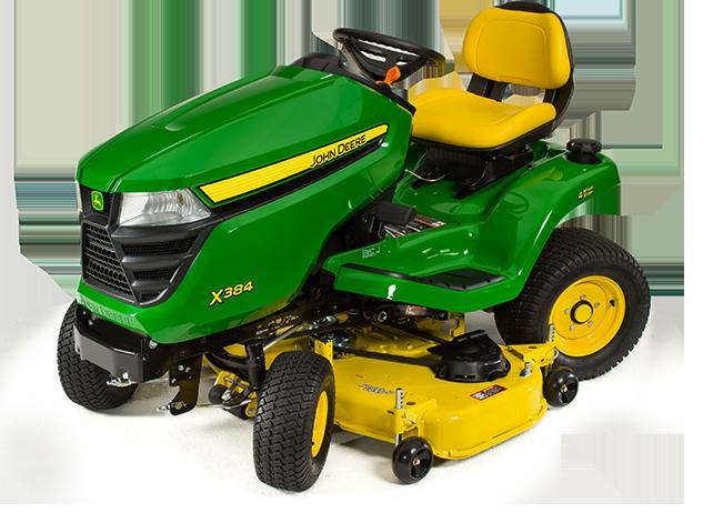 X300 Select Series Lawn Tractor   X384, 48-in. Deck   John ...