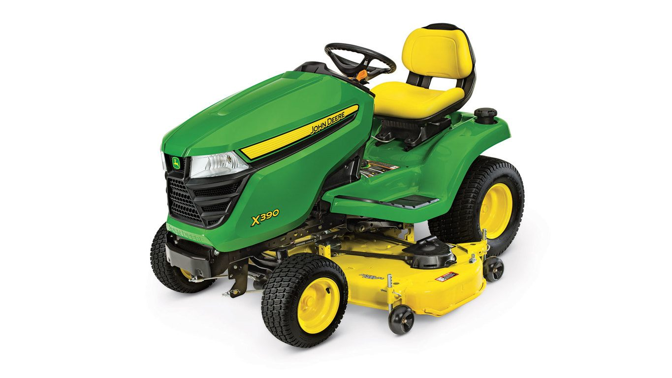 X300 Select Series Lawn Tractor | X390, 54-in. Deck | John ...
