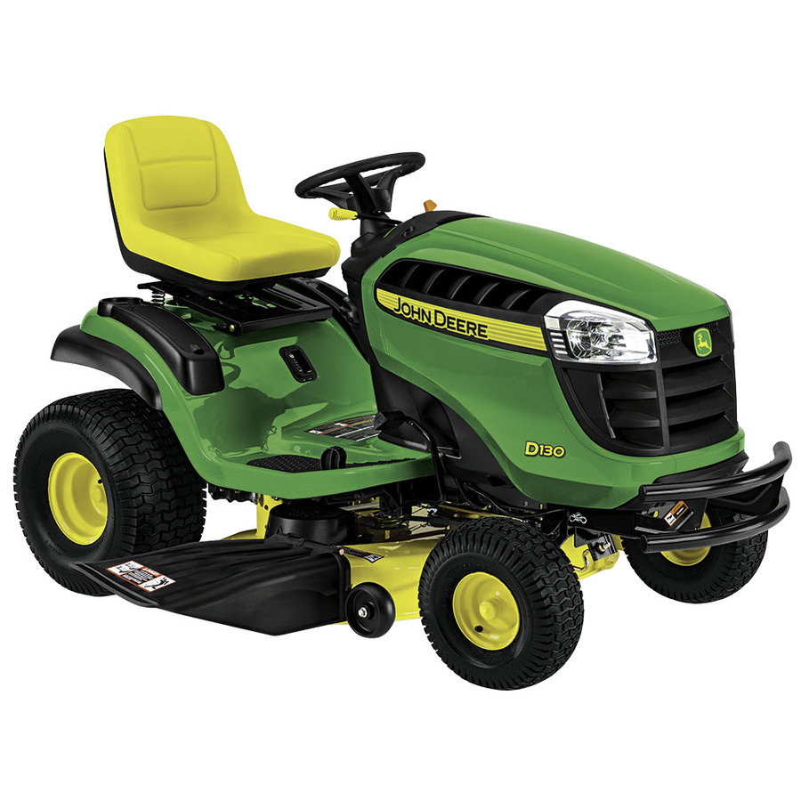 Shop John Deere D130 22-HP V-Twin Hydrostatic 42-in Riding ...