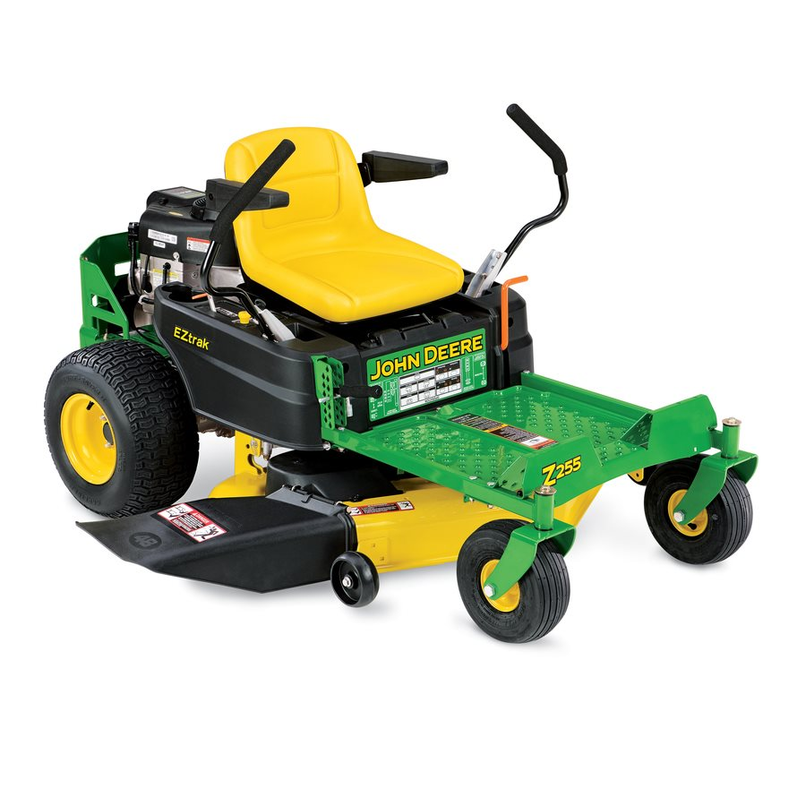 John Deere Z255 22-HP V-Twin Dual Hydrostatic 48-in Zero ...