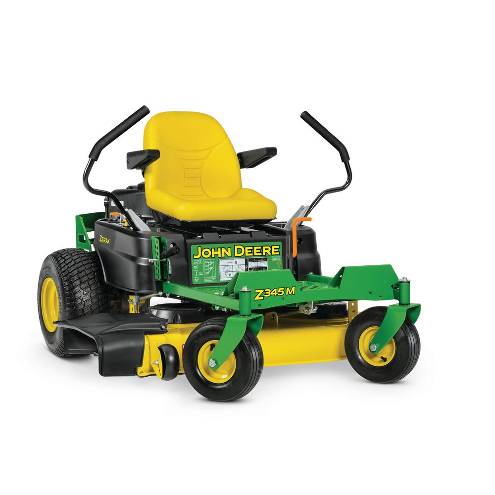 John Deere Z345M 42 in. 22 HP Dual Hydrostatic Gas Zero ...