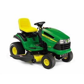 Shop John Deere 22-HP V-Twin Hydrostatic 48-in Riding Lawn ...