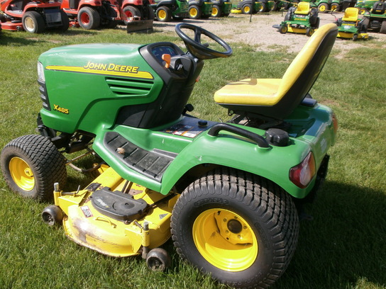 2004 John Deere X485 Lawn & Garden and Commercial Mowing ...
