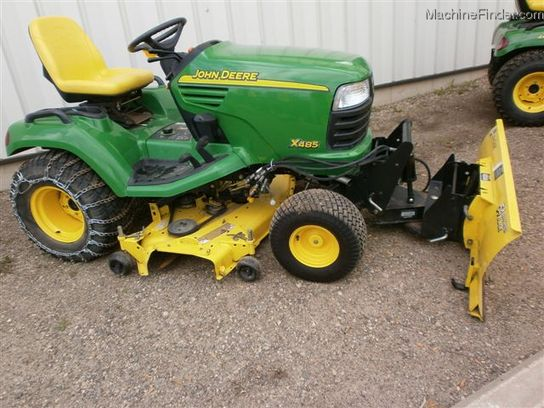 2005 John Deere X485 Lawn & Garden and Commercial Mowing ...