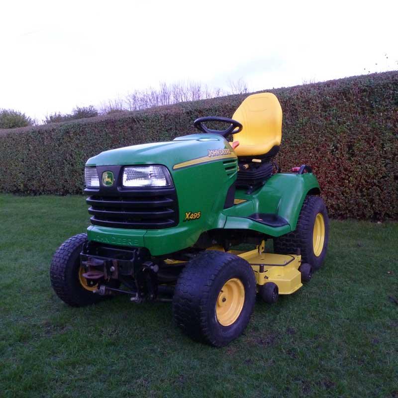 (௭) 2004 John Deere X495 Garden Tractor With 48 Rear ...