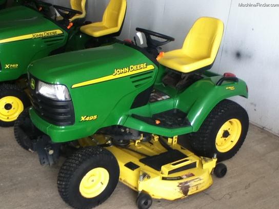 2005 John Deere X495 Lawn & Garden and Commercial Mowing ...