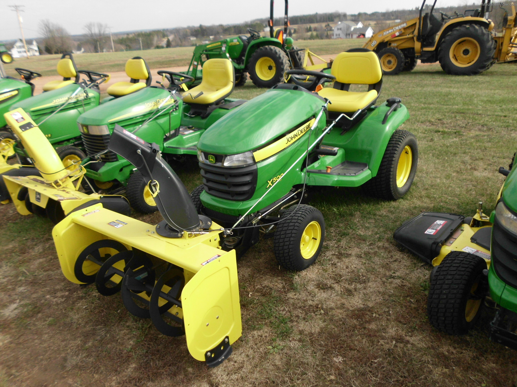 2007 John Deere X500 Lawn & Garden and Commercial Mowing ...