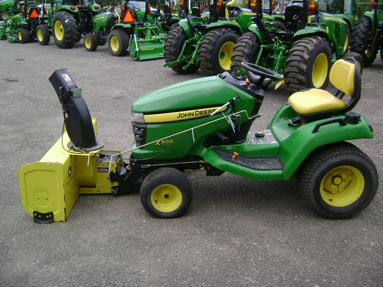 2009 John Deere X500 Lawn & Garden and Commercial Mowing ...