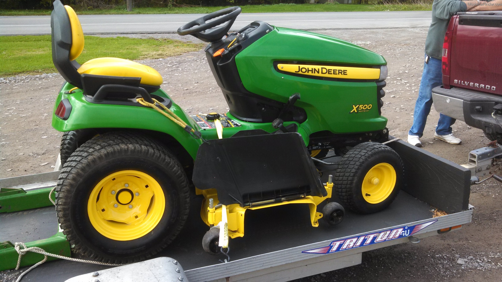 2011 John Deere X500 Lawn & Garden and Commercial Mowing ...
